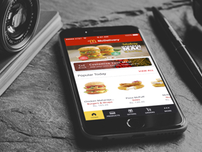 McDelivery App Concept
