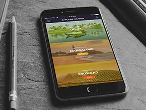 Tourism Mobile App Concept