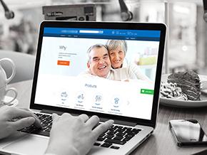 Insurance Web Concept